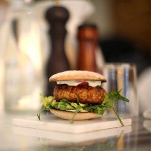 Lucca Style Mini Tuna Burger